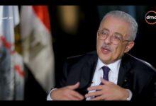 صورة وزير التعليم يتحدث  عن زيادة بدل المعلمين..تفاصيل