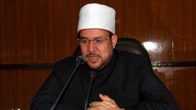 صورة وزير الأوقاف يتحدث عن قيادات الإخوان وأبواق المأجورين والخونة
