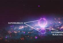 """صورة ناسا تنشر صورة جديدة لـ""""فقاعتين """"على بعد ملايين السنين الضوئية"""