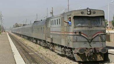 صورة قطار يدهس طالبين في القليوبية قبل الإفطار