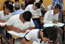 صورة تسريب امتحاناللغة العربيةلطلابالإعدادية بمحافظة القاهرة