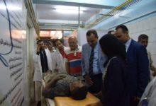صورة سقوط جزء من سقف معهد التدريب علي تكنولوجيا الاتصالات بسوهاج وأصابة 5