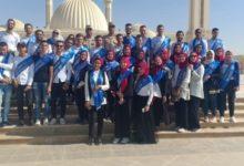 صورة طلاب جامعة بنها يزورون العاصمة الإدارية الجديدة