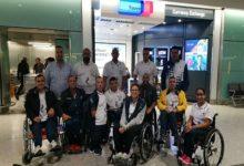 صورة بعثة منتخب مصر للسباحة للاعاقات الحركية يشارك فى بطولة العالم للسباحة بانجلترا