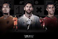 صورة الفيفا يعلن الثلاثى المرشح لجائزة أفضل لاعب