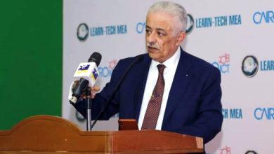 صورة وزير التعليم يرد على قنوات الشر المشككة فى التطوير.. فيديو
