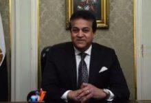 صورة وزير التعليم العالي يهنئ رؤساء الجامعات بذكرى المولد النبوي