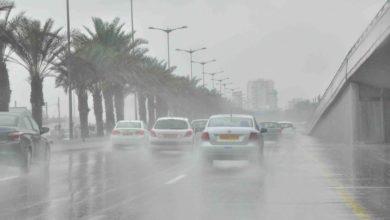 صورة في عز الصيف..الأرصاد تحذر من أمطار رعدية تحصل لحد السيول