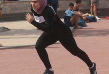 صورة رولا هاشم طالبة طب جامعة مصر تتوج ببرونزية الجمهورية لألعاب القوى