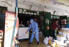 جامعة سيناء تشارك في حملة التعقيم والتطهير ضد فيروس كورونا