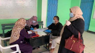 صورة مدارس الدقهلية تستلم الأبحاث وسط إجراءات وقاية لكورونا