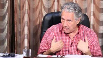 صورة نقل الفنان سناء شافع للمستشفى إثر تعرضه لوعكة صحية