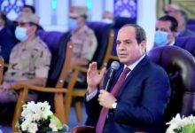 صورة الرئيس : مصر من أوائل الدول التي ساهمت في تمكين  المرأة سياسيا