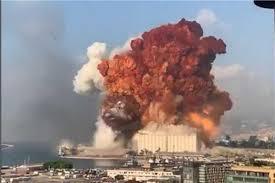 صورة إنفجار جديد بخزان مازوت في  لبنان