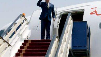 صورة الرئيس يصل الكويت للعزاء في الأمير الراحل  صباح الأحمد